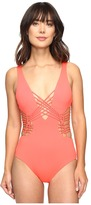 Becca by Rebecca Virtue Electric Current One-Piece