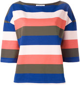 YMC striped top - women - Cotton - XS