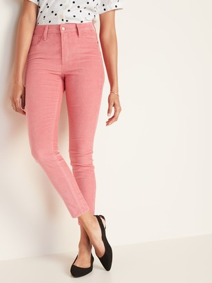 Old Navy High-Waisted Rockstar Super Skinny Corduroy Pants for Women