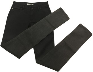 Givenchy Anthracite Cotton - elasthane Jeans