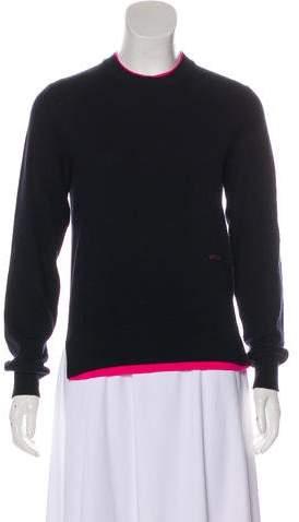 Celine Cashmere & Wool Knit Sweater