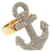 Juicy Couture Knots & Anchors Large Pavé Anchor Ring