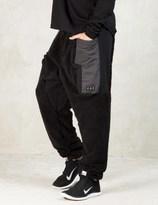 PAM Black Tv Fuzz Duplo Pants