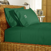 Ralph Lauren Green Percale Sheeting