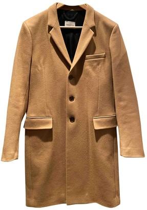 Sandro Camel Wool Coats