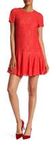 CeCe by Cynthia Steffe Short Sleeve Lace Dress
