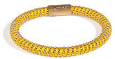 Carolina Bucci Gold-Plated Twister Bracelet in Yellow
