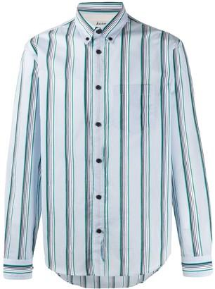 Acne Studios Striped Button-Down Shirt