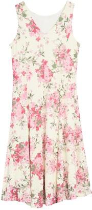 Tash + Sophie Floral Fit & Flare Dress