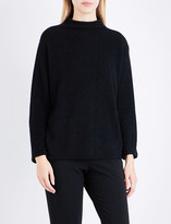 Armani Collezioni High-neck knitted jumper