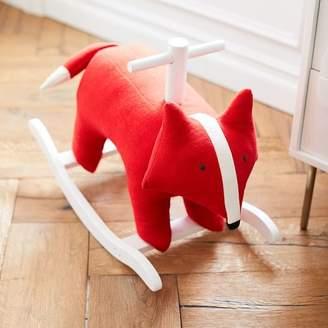 west elm Felt Nursery Rocker - Fox