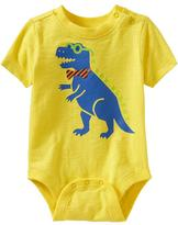 Old Navy Animal-Graphic Bodysuits for Baby