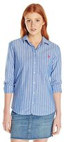 U.S. Polo Assn. Juniors' Pencil Stripe Long-Sleeve Woven Shirt