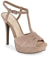 Jessica Simpson &Bassie& T-Strap Platform Sandal (Women)