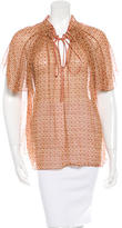 Marc Jacobs Printed Short Sleeve Top