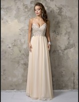 Nina Canacci - 1236 Dress in Champagne