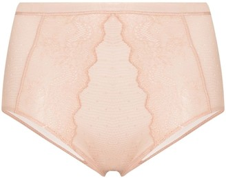 Spanx Spotlight on Lace panelled briefs
