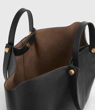 AllSaints Allington Leather East West Tote Bag