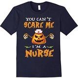 You can't scare me I'm a Nurse - Funny Halloween Nurse shirt--