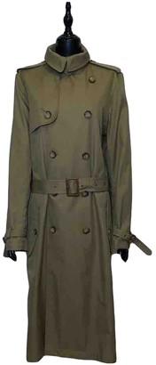 Polo Ralph Lauren Khaki Cotton Trench Coat for Women