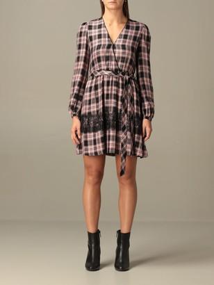 Liu Jo Short Checked Dress