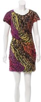 Diane von Furstenberg Silk Mini Dress