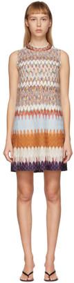 Missoni Multicolor Knit Short Dress