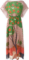 RED Valentino Fantasy Landscape dress - women - Silk/Polyester/Spandex/Elastane - 40