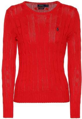 Polo Ralph Lauren Pima cotton cable-knit sweater