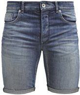 Selected Homme Shnalex Denim Shorts Dark Blue Denim