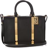 Sophie Hulme Charlton medium leather bowling bag