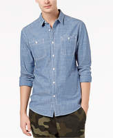 American Rag Men's Chambray Oxford Shirt, Created for Macy's