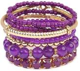 Riah Fashion Beaded Stretch Bracelet