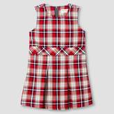 Cat & Jack Toddler Girls' Woven Plaid Jumper