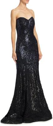 Rene Ruiz Collection Strapless Mermaid Gown