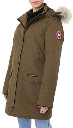 Canada Goose Trillium Parka (Military Green) Women's Clothing