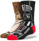 Disney Darth Vader and Luke Skywalker Socks for Kids by Stance