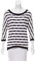 Bailey 44 Long Sleeve Striped Top