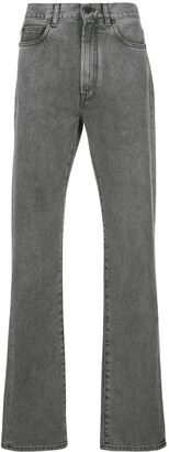 Off-White Faded Straight Jeans