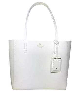 Kate Spade White Leather Travel bags