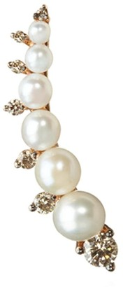 Annoushka Diamonds and Pearls Right Ear Pin