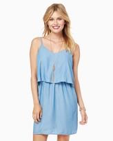 Charming charlie Popover Denim Dress