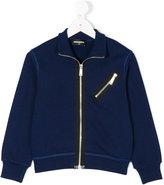 DSQUARED2 zipped sweatshirt - kids - Cotton - 4 yrs