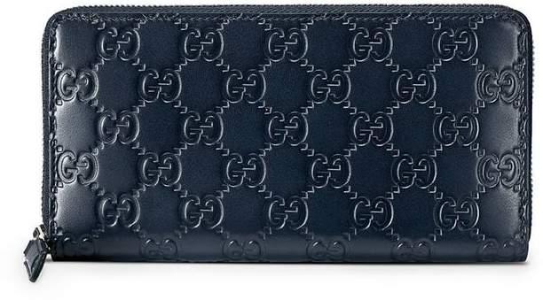 8c3084e8c9c Gucci Wallet Blue - ShopStyle