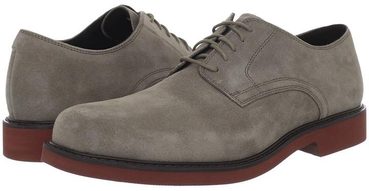Rockport Mackson (Dark Stone Suede) - Footwear