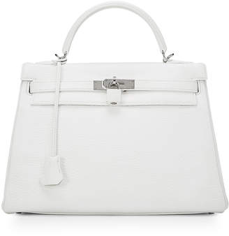 Hermes Kelly Clemence Top Handle Bag