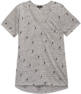 Rails Cara Grey Lightning Tee