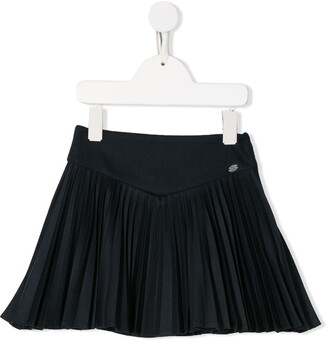 Tartine et Chocolat pleated A-line skirt