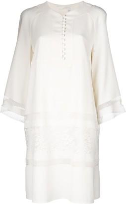 Chloé Lace Panel Mini Dress