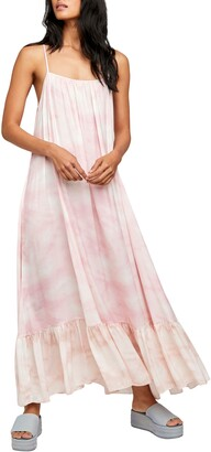 Free People Tie Dye Maxi Slipdress